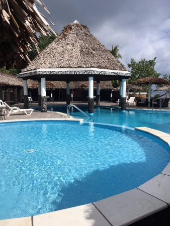 Manase, Samoa: Kids pool, overlooking the main pool