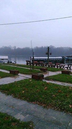 Danube River : A little rain in December 2016