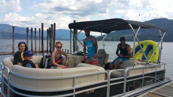 Blind Bay, แคนาดา: Our lowe rental boat