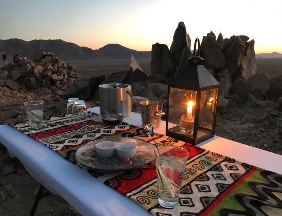 Sesriem, Namibya: Sundowners