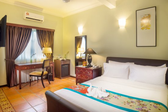 Garden room picture of areca hotel penang george town for Garden room reviews