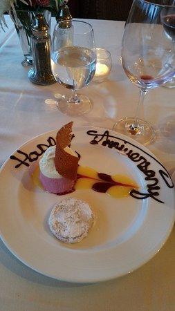 Stephanie Inn: Special Dessert