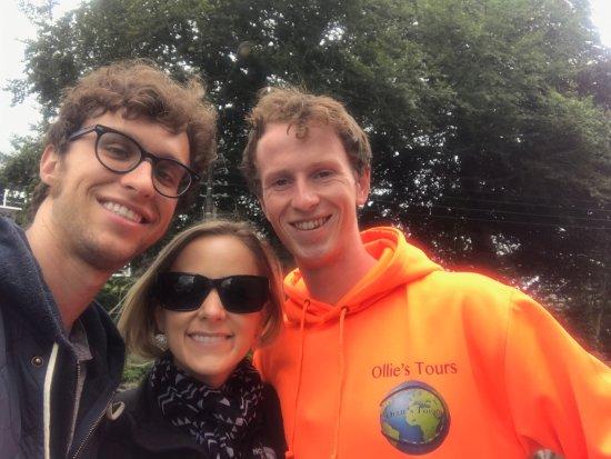 Ennis, Ireland: Walking around with Ollie!