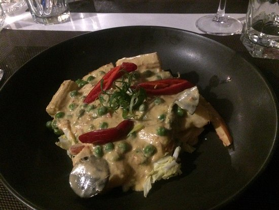 Southport, Australien: Delicious prawn curry