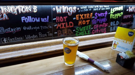 Willington Pizza Too: Cold Beer