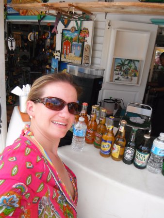 Marigot, Άγιος Μαρτίνος: Getting my drink on!