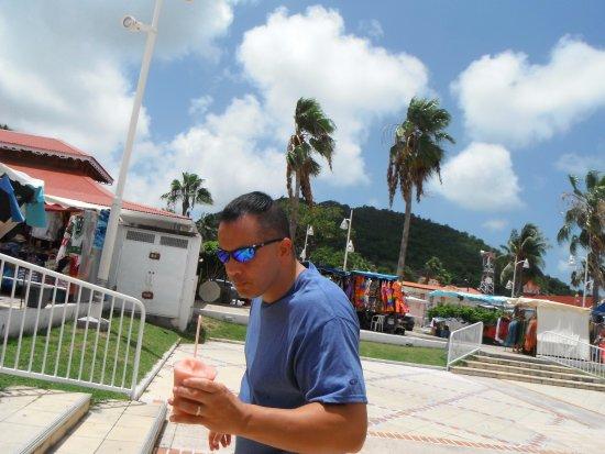Marigot, Άγιος Μαρτίνος: Great frozen drink!
