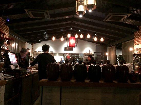 Inglewood, Australië: Shunking restaurant interior