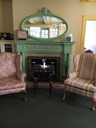 Stony Point, Nova York: Fireplace