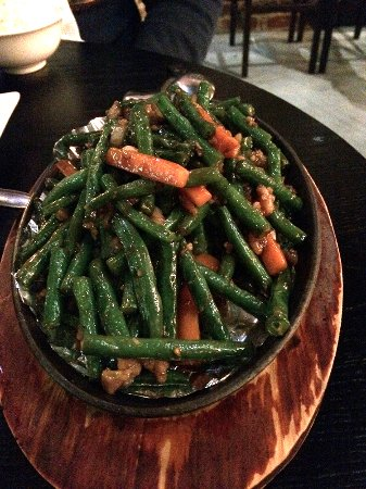 Inglewood, Australia: Sizzling Green Beans with Pork Mince