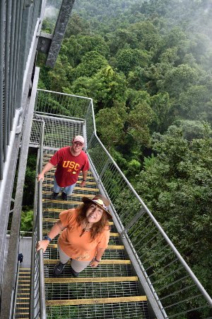 Innisfail, Αυστραλία: Climbing the tower