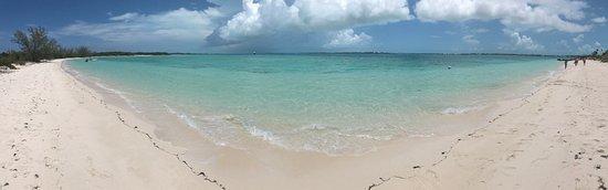Stocking Island, Great Exuma: Gorgeous white sand beaches everywhere