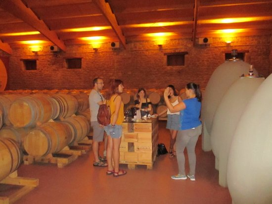 Haro, Spanyol: Small old winery with a very fun and knowledgeable staff.
