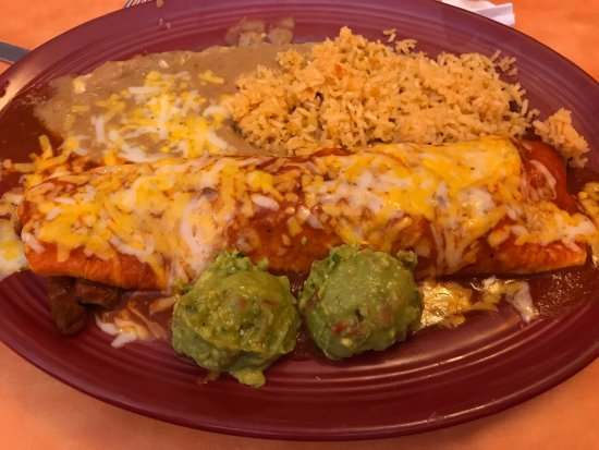 Pinedale, WY: Colorado burrito is excellent