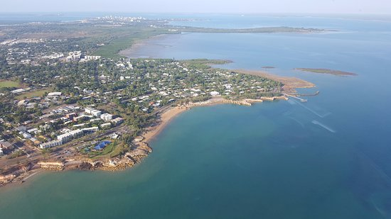 Airborne Solutions: Views over the coastline
