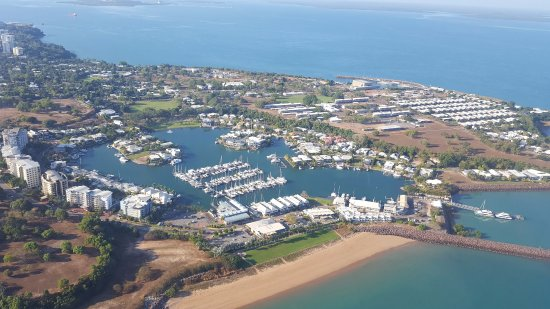 Airborne Solutions: Views over the coastine