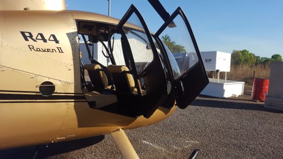 Airborne Solutions: Our fancy little chopper!