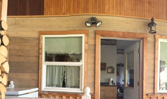 Kenai, AK: Front door of suite.
