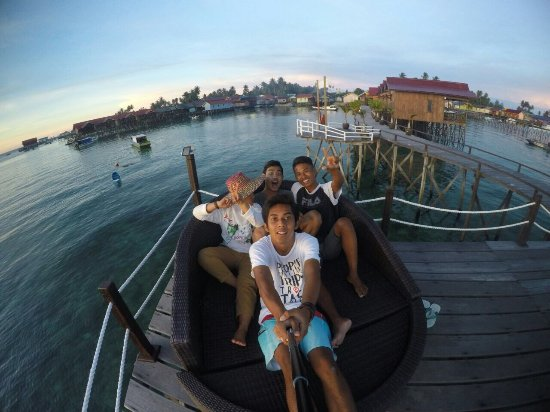 Derawan Islands, Indonesië: Our place