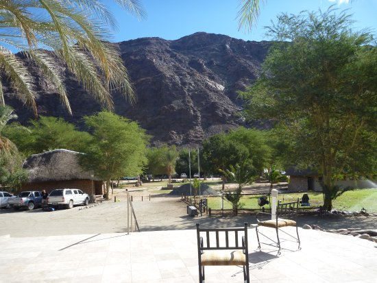 Fish River Canyon, Namibia: View from restaurant