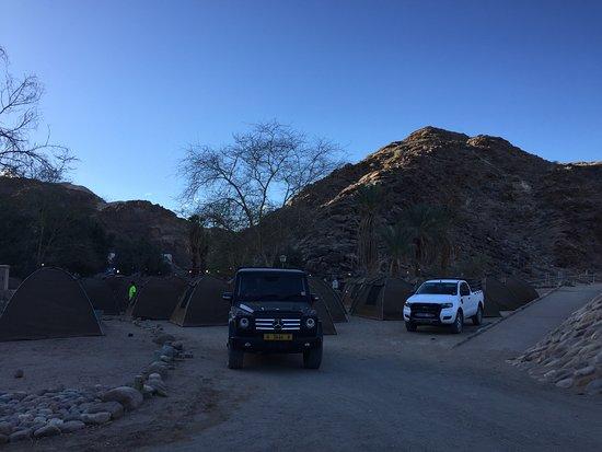 Fish River Canyon, Namibia: Camp site