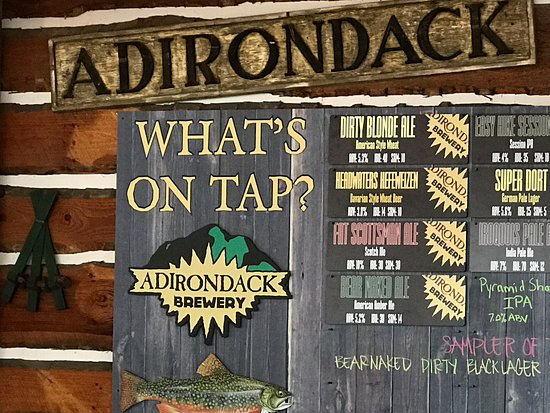 Adirondack Pub & Brewery: What's on tap?