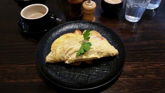 Keilor, Australien: 3 egg omlette