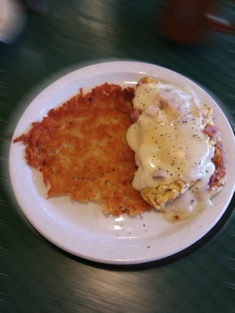 Berry's Pie Pantry: Ham & Cheese Omelet