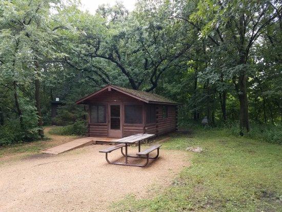 Mankato, MN: The Camper Cabin.