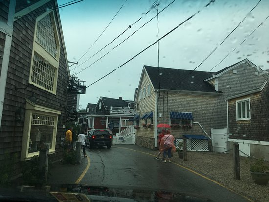 Perkins Cove: They need to do something about all the wires