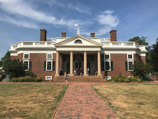 Charlottesville, Βιρτζίνια: Front of Monticello