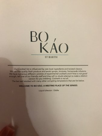 photo5 jpg - Picture of Bo Kao, Gustavia - TripAdvisor