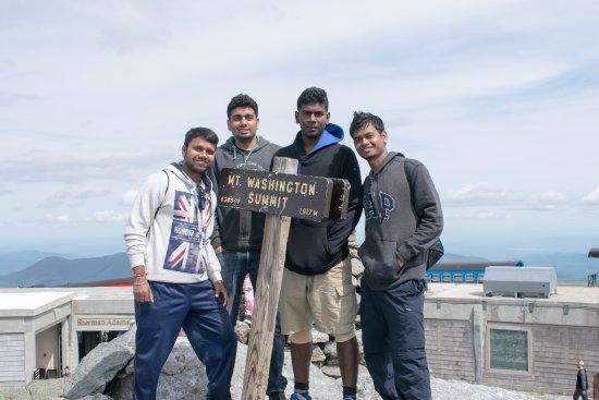 Mount Washington: At the summit