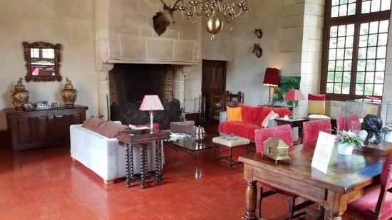 Azay-le-Rideau, France: Sitting room
