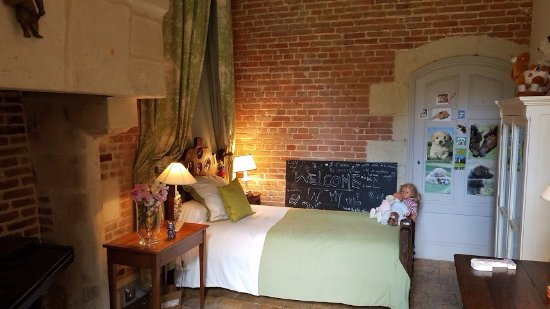 Azay-le-Rideau, France: Child's bedroom