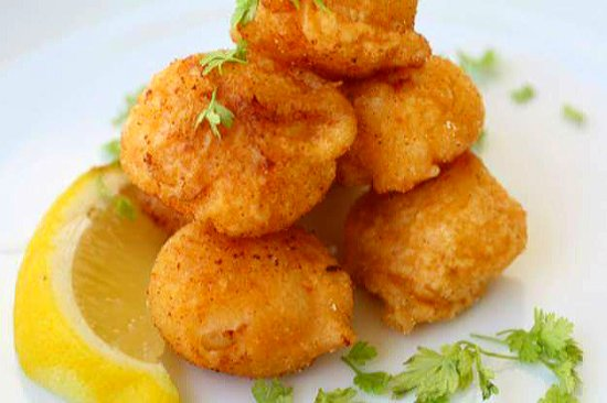 Levin, New Zealand: Battered Scallops