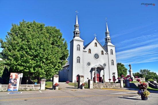 L'Église Sainte-Famille et le Presbytère de Cap-Santé