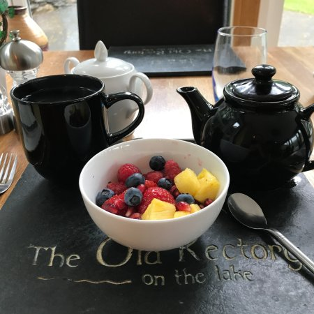 The Old Rectory on the Lake: Breakfast