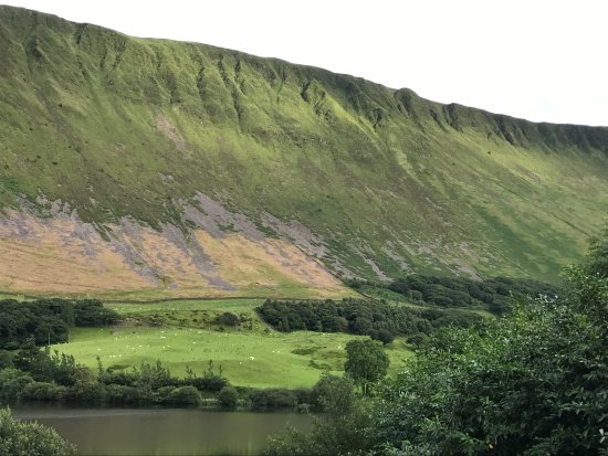 Tal-y-llyn, UK: View out the front door