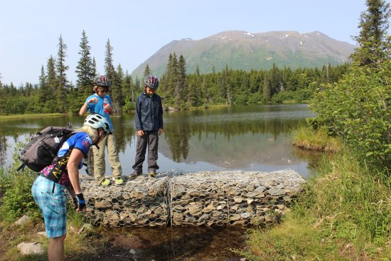 Cooper Landing, AK: exploring break