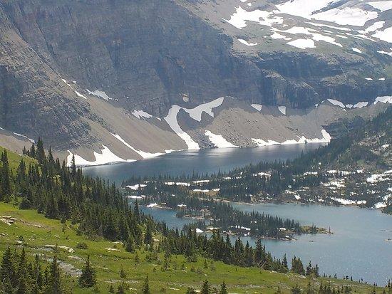 Hidden Lake Overlook at Logan's Pass