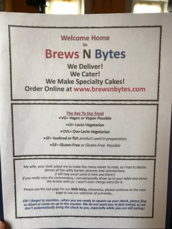 Danville, PA: Brews and Bytes Cafe and Eatery