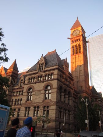 Old City Hall: during sunset