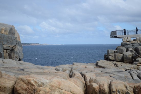 Albany, Australia: Approaching the viewing platform