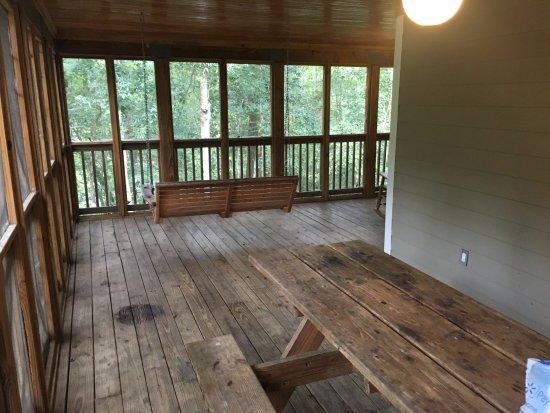 Mayo, FL: porch