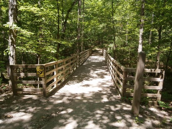 West Bloomfield, MI: bridge over the creek
