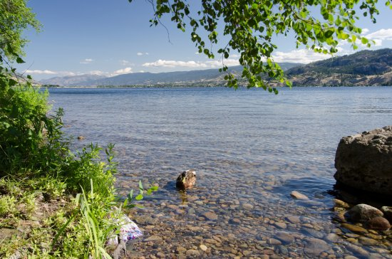 Kaleden, Canada: Camp Site and view