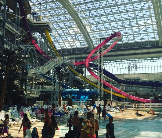 West Edmonton Mall Water Park Sky Screamer