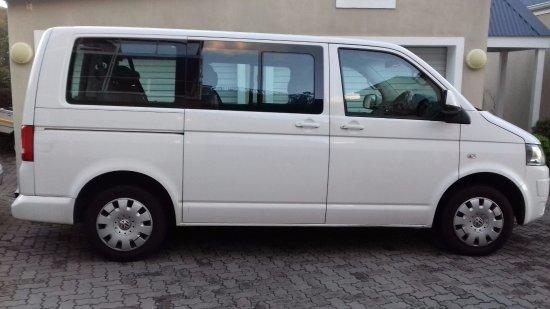Sedgefield, South Africa: Spacious mini bus