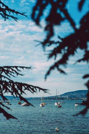 Kilchberg, Suiza: Вид на озеро